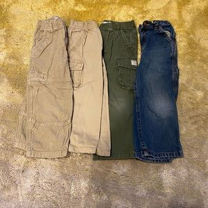 4 pairs of children's place pants